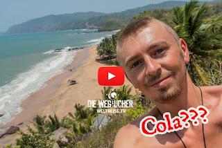 Cola Beach in Goa, Indien, ein traumhaftes Paradies, schönster Strand, Arkadijs WELTREISE.TV