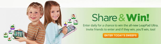 LeapPad Pre-Order and Sweepstakes