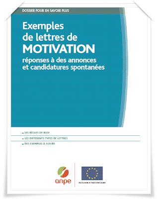 Lettres de motivation  حمل كتاب الخطابات الفرنسية