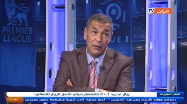 VIDÉO. tous ce que Bencheikh a dit sur Mahrez aprés avoir été élu meilleur joueur de la premiere ligue