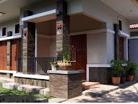 Gambar model tiang untuk teras rumah yang sederhana tapi mewah