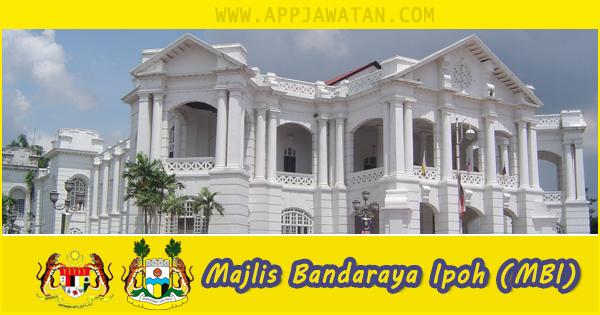 Jawatan Kosong di Majlis Bandaraya Ipoh (MBI) - 19 oktober 2018
