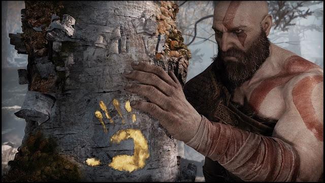 أحد اللاعبين يترجم بعض الأحجار المتواجدة في لعبة God of War و يكشف حقائق رهيبة ، شاهد من هنا ..