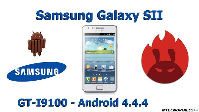 samsung galaxy s2 i9100 kitkat 4.4.4 antutu