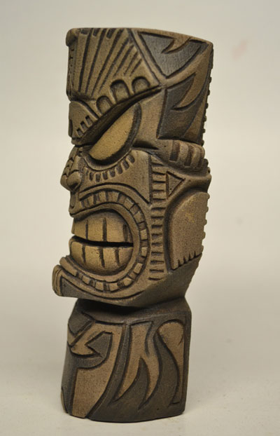 God tiki carving by nemo
