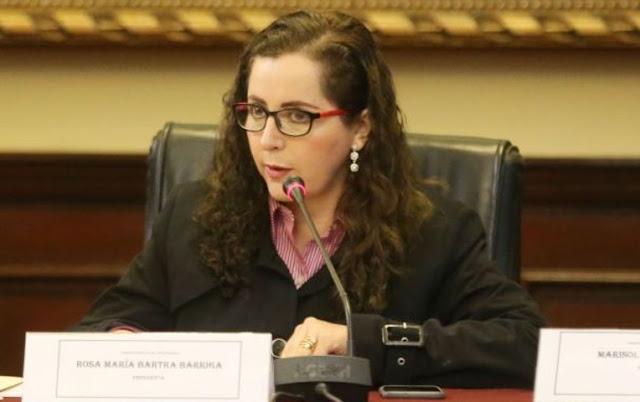 """Bartra tras cuestionamientos de Villanueva: """"El Congreso está haciendo su trabajo"""""""