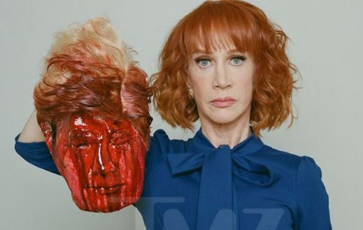 'I'm no longer sorry' for decapitated Trump Photo' - Comedienne, Kathy Griffin retracts her apology (Video)