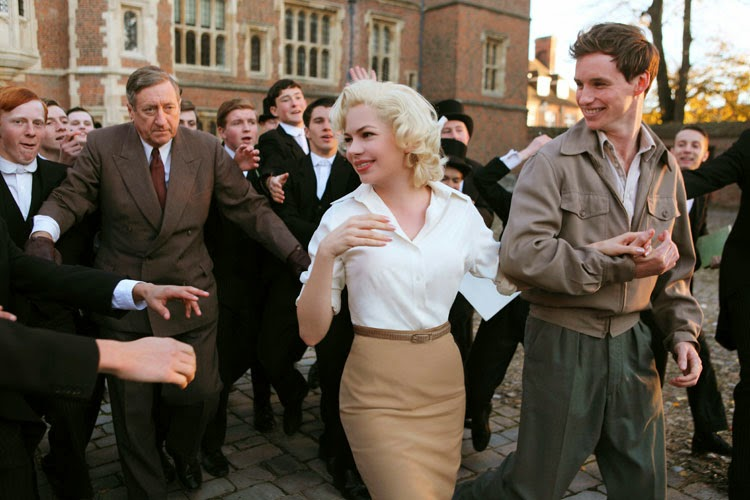 My Week With Marilyn Monroe Michelle Williams Eddie Redmayne