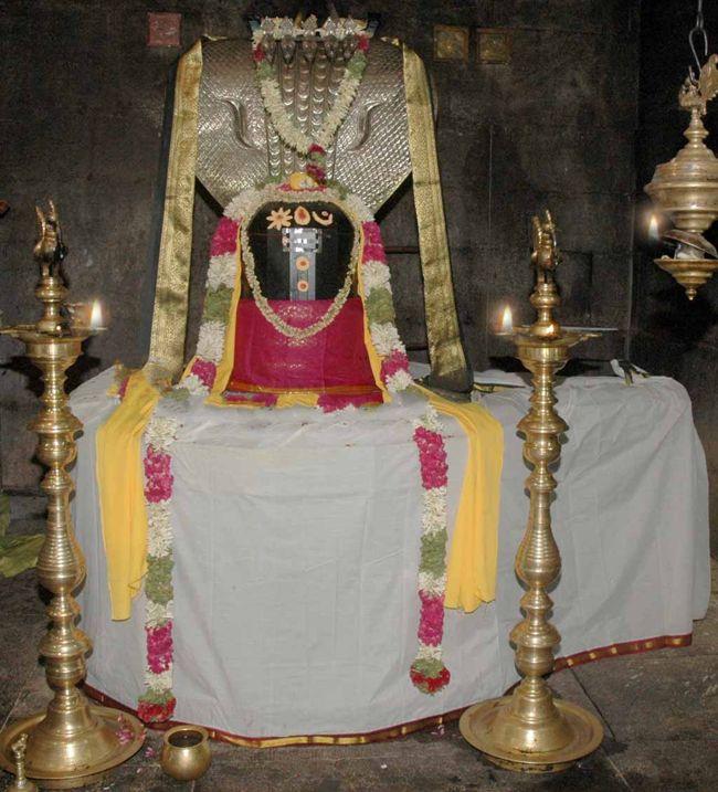 Sri Swarnapureeswarar Temple Main Deity