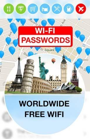 تحميل برنامج معرفة باسورد الواى فاى WiFi Map Passwords للاندرويد
