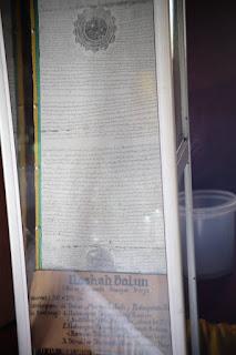 naskah balun yang tersimpan di istano rajo balun