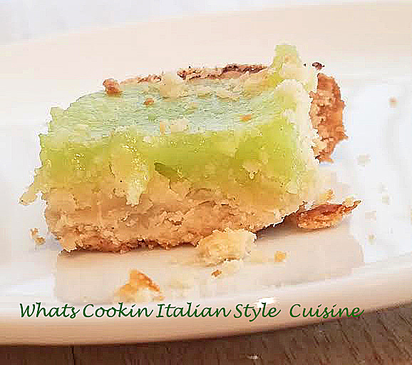 Coconut Lime Pie Bars