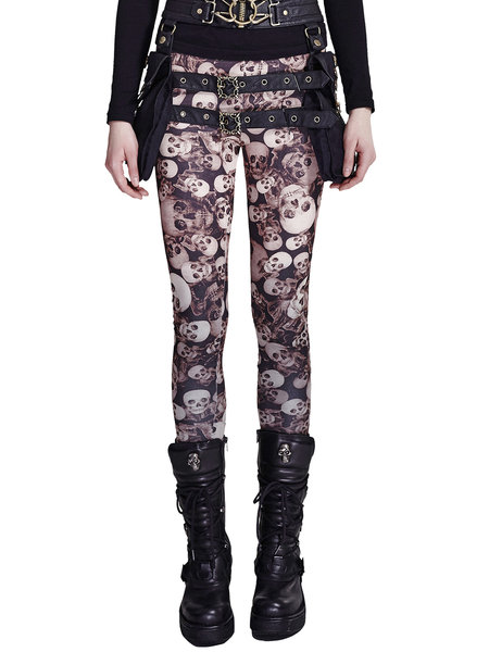 https://www.stylewe.com/product/coffee-skull-print-street-leggings-70629.html