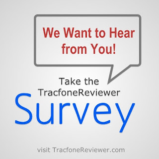 Take our Survey and Help Improve the Website Tracfone Survey - Share your Thoughts on Tracfone and the Blog