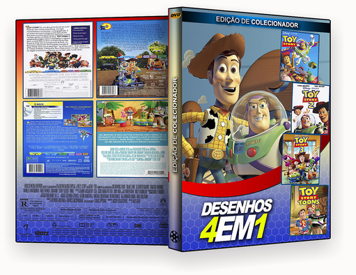 INFANTIL 4X1 – Toy Story – ISO