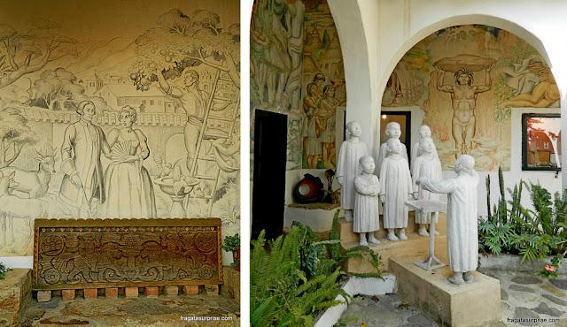 Obras do Museu Luís Alberto Acuña - Villa de Leyva, Colômbia
