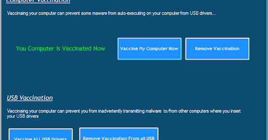 USB & Computer Vaccination Code Source - We Coding For You
