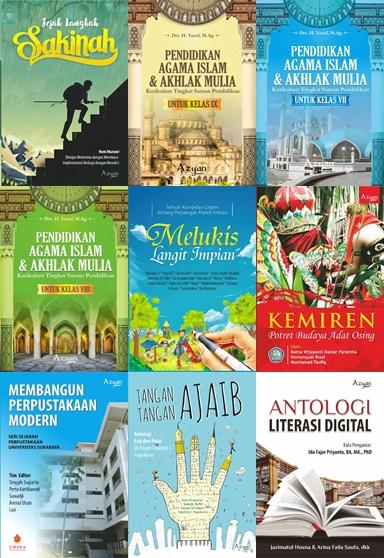 Contoh Buku Terbitan Azyan Mitra Media