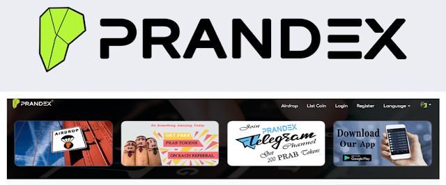 Info Airdrop Prandex Bounty Token (PRAB), Bot Telegram Prandex Bounty Token