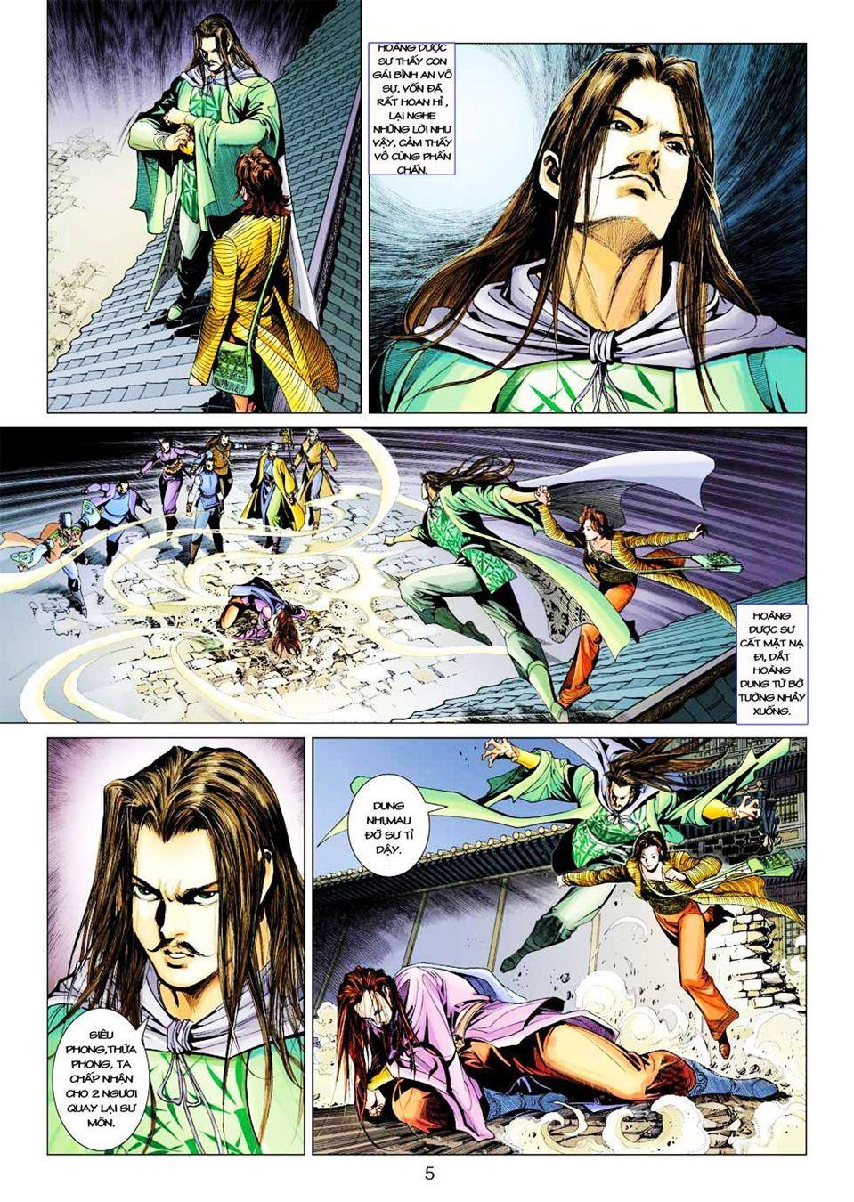 Anh Hùng Xạ Điêu anh hùng xạ đêu chap 33 trang 5