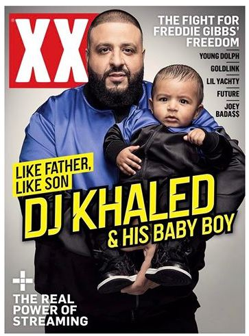 Like Father, Like Son! DJ Khaled and his son Asahd cover XXL's 2017 Spring Edition