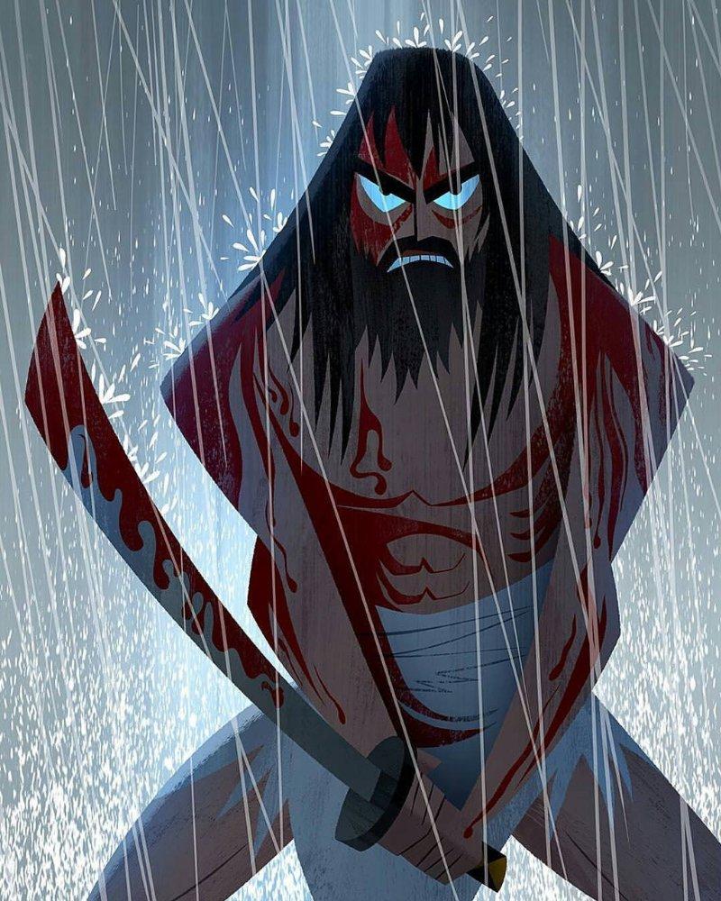 The Manga Me: Samurai Jack Fan Art.