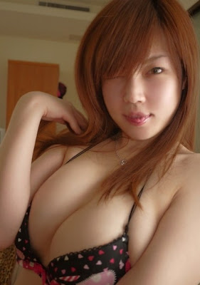 wide open asian female models