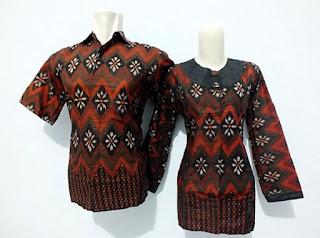 Foto Model Baju Batik Kerja Guru