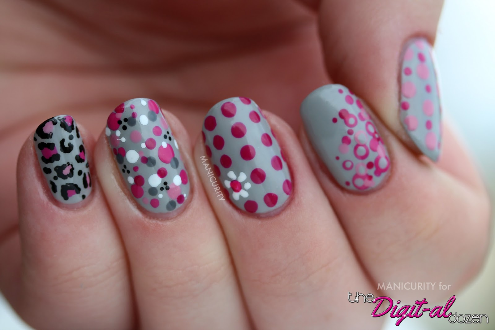 Basic Art Designs : Nail art designs with dotting tool
