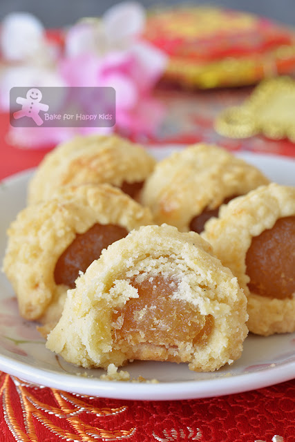 melt in the mouth condensed milk nastar pineapple tarts