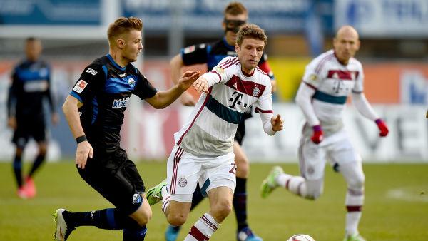 Paderborn 07 vs Bayern Munich