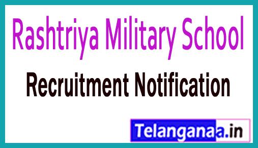 Rashtriya Military School RMS Recruitment Notification