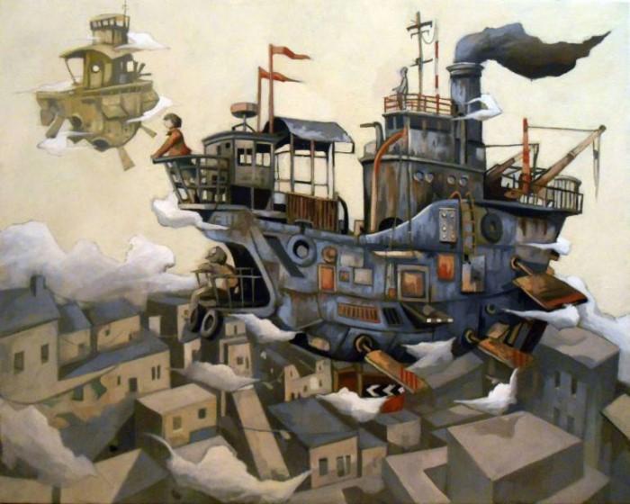 Механическая сказочная неопределенность. Alessandra Carloni