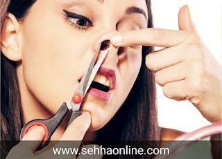 Risks of removing nasal hair-شعر الأنف-