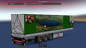 Pfalz Transport standalone Schimtz trailer