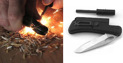 Coolest Camping Gadgets for Techies - ToolLogic Firesteel Knife (15) 14