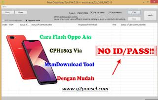 Cara Flashing Oppo A3S mengatasi Lupa pola / Mati total | KASKUS