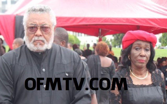 Ex-Prez. Jerry John Rawlings and Nana Konadu Agyeman Rawlings