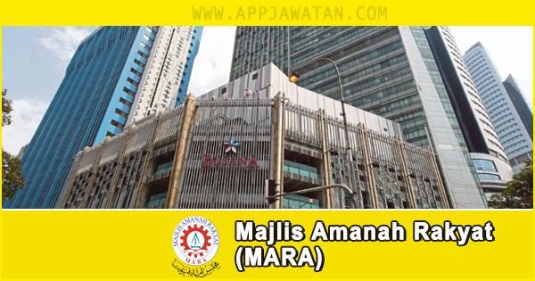 Jawatan Kosong di Majlis Amanah Rakyat (MARA) - 13 Oktober 2018
