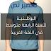 تحضير درس الوطنية للسنة الرابعة متوسط في اللغة العربية ص 127 + ملخص