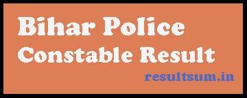 Bihar Police Constable Result 2014
