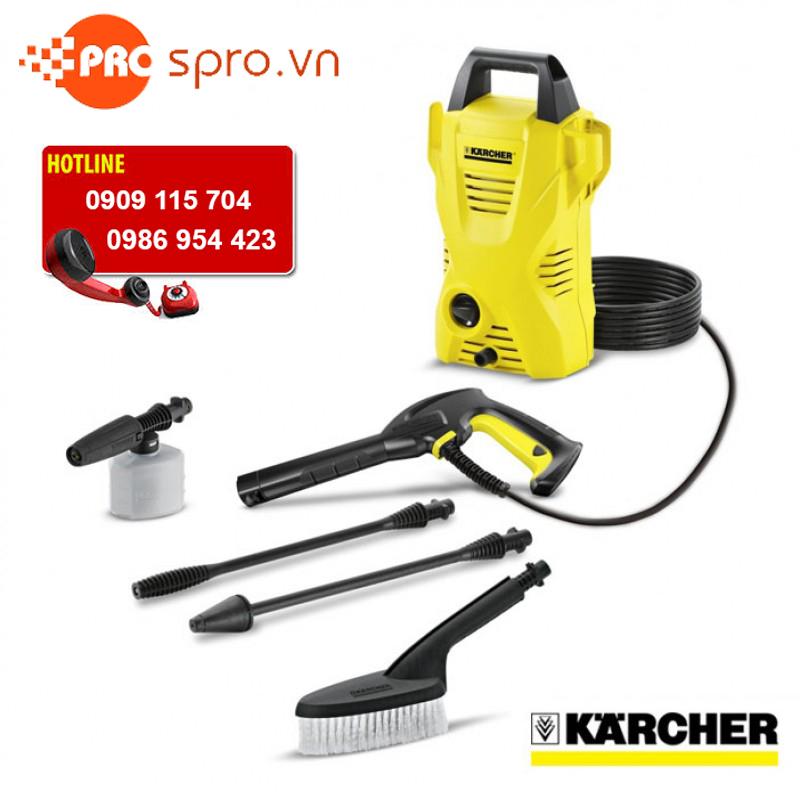 Máy xịt rửa xe Karcher K2 Compact Car nhập khẩu trực tiếp từ Đức