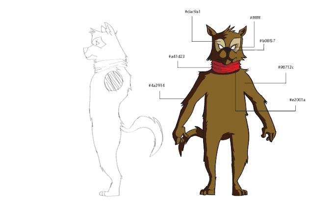 douglas deri, deri, deriart, character model sheet, desenho, desenhos, dog, model sheet, draw, Illustrator, wolf