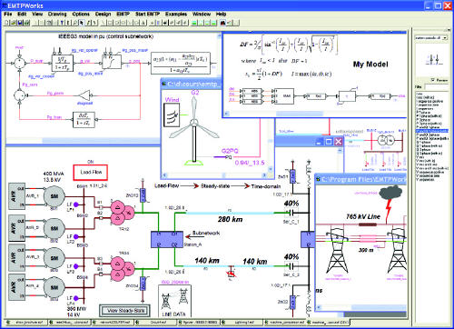 Emtp Rv Reference For Power System Transients Power