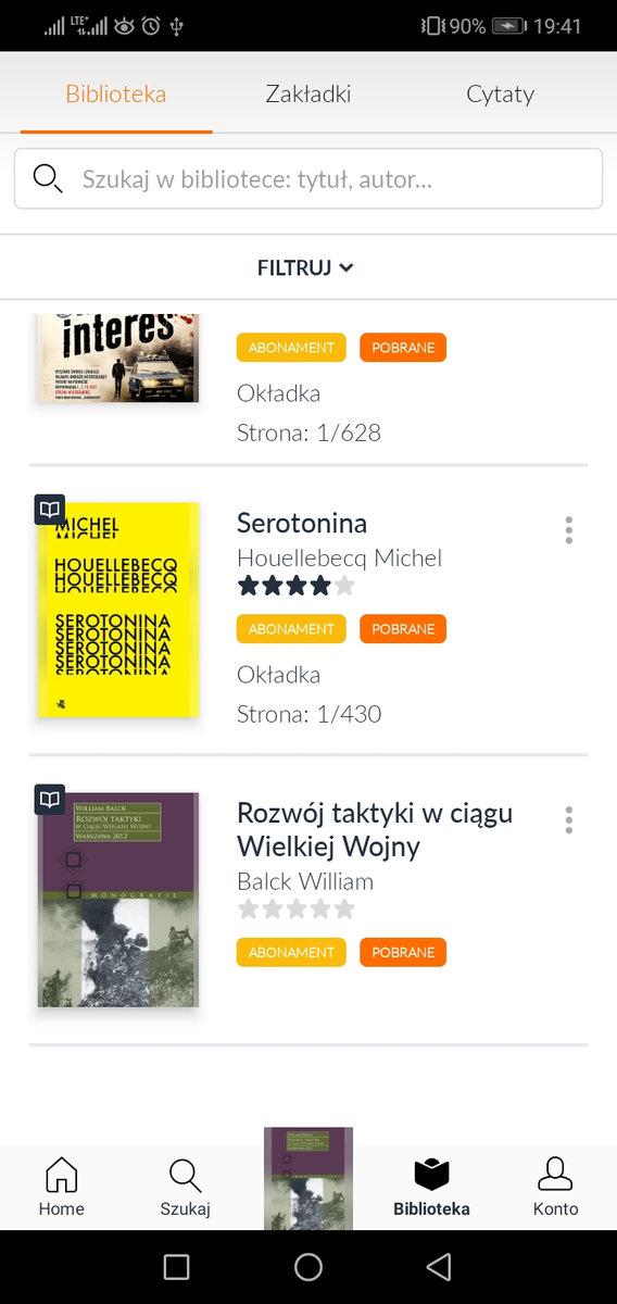 Empik Go - biblioteka