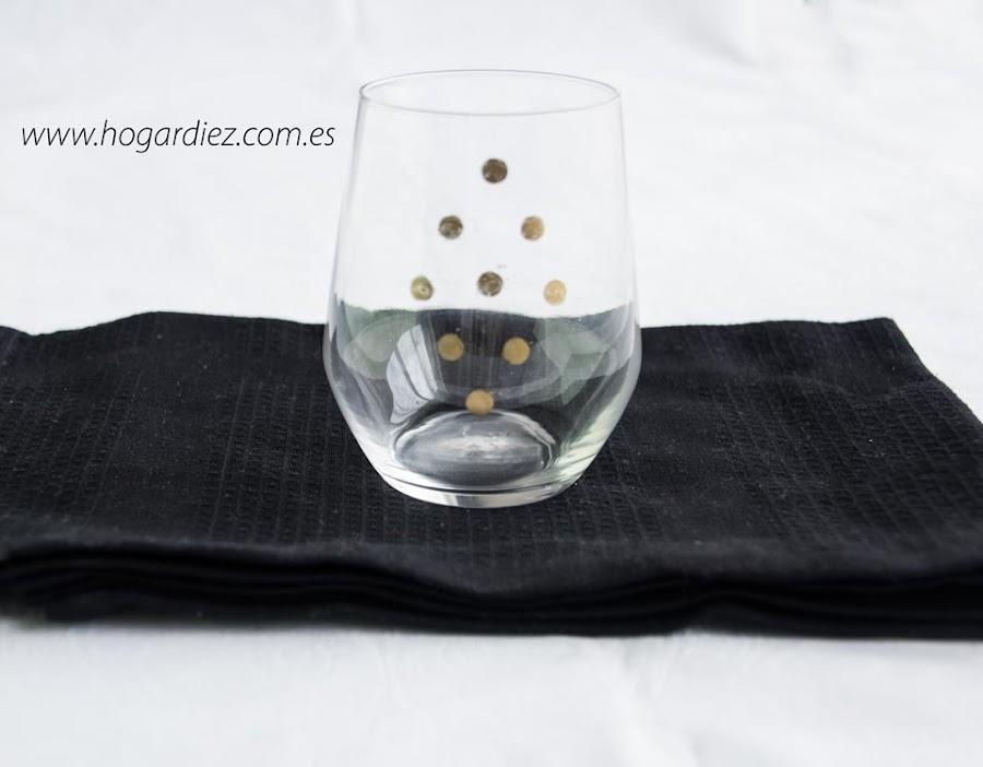 DIY para tus vasos de cristal