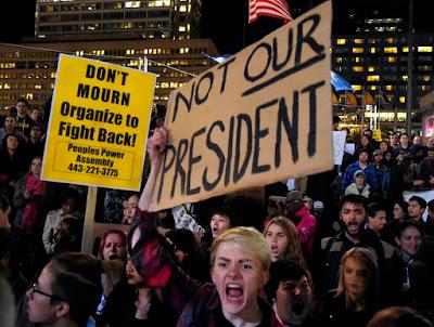 amerikai elnökválasztás, elektorok, Donald Trump, Hillary Clinton, petíció, not my president, not our president