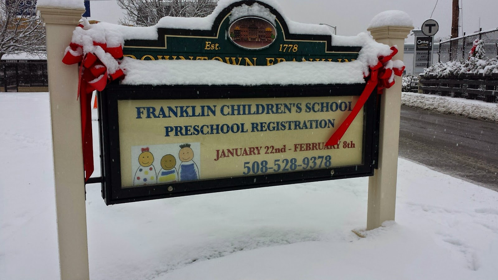 Franklin Children's School has another registration day scheduled for Feb 8th