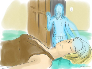 ilustración de desdoblamiento en sueños