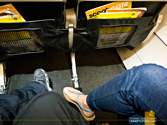 Scoot Review Manila to Singapore to Australia Legroom